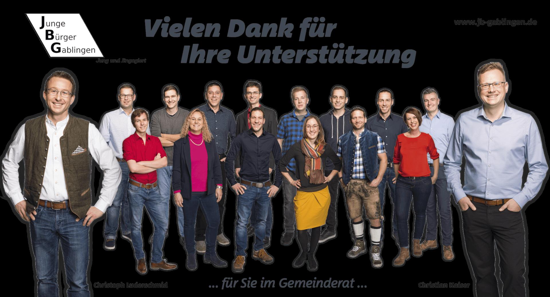 Junge Bürger Gablingen - JBG